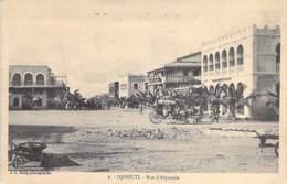 DJIBOUTI  - Rue D'Abyssinie - CPA - - Djibouti
