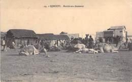 DJIBOUTI  - Marché Aux Chameaux - CPA - - Djibouti