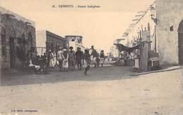 DJIBOUTI  - Bazars Indigènes - CPA - - Djibouti