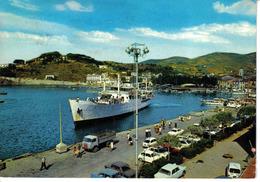 Italie Toscana Livorno ISOLA D'ELBA N°8 Porto Azzuro En 1969 Bateau Camion Fiat 850 1500 Peugeot 404 - Livorno