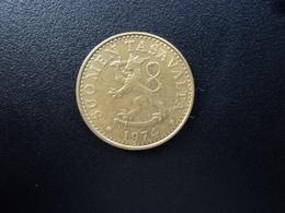 FINLANDE : 20 PENNIÄ  1974 S    KM 47     SUP - Finlande