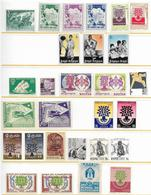 WORLD REFUGEE YEAR 1960 - 28v Complete Sets Of Different Countries MNH - Emissioni Congiunte
