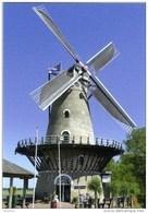 KORTGENE - Noord-Beveland (Zeeland) - Molen/moulin - Stenen Stellingmolen 'De Korenbloem' Opgezeild En In Werking (2015) - Pays-Bas