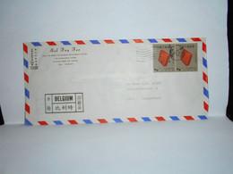 Brief Verzonden Van Taipei Naar België In 1970 - 1949 - ... République Populaire