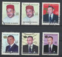 °°° MAROC - Y&T N°1285/1318ABD/1420/1572 - 2001/2002/2006/2011 °°° - Marocco (1956-...)