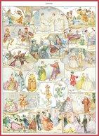 Danse. Illustration Herouard Recto-verso Larousse 1948. - Autres