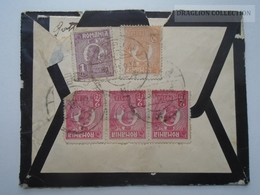 ZA163.2  Cover Romania  Sibiu Hermannstadt 1924 Sent To  Budapest Hungary - Briefe U. Dokumente