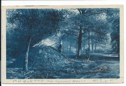CPA - Belle Maquette De Carte - Charbonniers Forêt De Haye- Imprimeries Réunies Nancy - 54 Meurthe Et Moselle Colorisée - Nancy