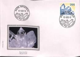 [900794]Suisse 2002 - FDC, Documents, Minéraux - Minéraux