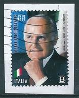 2018 OSCAR LUIGI SCALFARO  USATO - 6. 1946-.. Repubblica
