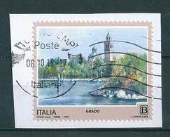 2018  GRADO SERIE TURISTICA  USATO - 6. 1946-.. Repubblica