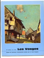 LES VOSGES Revue Club Vosgien 1976 N° 2 ( Alsace Vosges) Saint Hippolyte  , Haut Koenigsbourg - Lorraine - Vosges