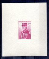 Monaco Bloc Feuillet Non Dentelè BF1a (*). 1938 Prince Louis II Cote €80 - Blocs