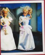 Vintage 1993 Barbie Mattel Panini Nr. 109 Sticker Autocollant  Aufkleber Adesivo - Autocollants