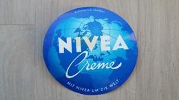Aufkleber Mit Kosmetik-Werbung (NIVEA-Creme) Aus Deutschland Von 1987 - Aufkleber