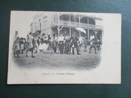 CPA DJIBOUTI CARNAVAL ANIMEE - Djibouti