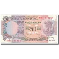 Billet, Inde, 50 Rupees, 1978, KM:84c, SUP - Inde