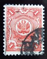 1914  Pérou Yt S27 .  Oblitéré Used - Peru
