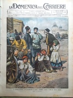 La Domenica Del Corriere 3 Luglio 1910 Schiaparelli Streghe Ascoli Piceno Genova - Libri, Riviste, Fumetti