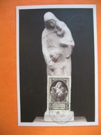 Carte Maximum France 1940 N° 465 Au Profit Des Victimes De La Guerre - Notre Dame Des Missions - Cartes-Maximum