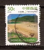 2014 - 50¢ - Tai Long Wan - Péninsule De Sai Kung - N°1736 - Used Stamps