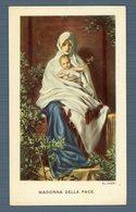 °°° Santino - Madonna Della Pace °°° - Religione & Esoterismo