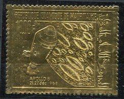 1969- MAURITANIA- ESPACE-APOLLO VIII-GOLD STAMP -M.N.H. -LUXE ! - Mauritanie (1960-...)