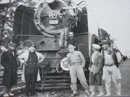 Très Belle Photo Ancienne Turquie Train Gare Locomotive Ligne Smyrne - Konia  ! Tampon Du Photographe - Stations With Trains