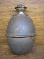 German Egg M39 Grenade,INERT - Armes Neutralisées