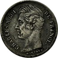 Monnaie, France, Charles X, 1/4 Franc, 1830, Bayonne, TB+, Argent, Gadoury:353 - France