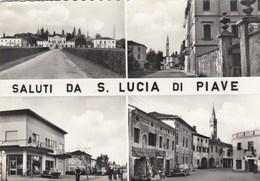 SANTA LUCIA DEL PIAVE-TREVISO-INSEGNA SALI E TABACCHI-CARTOLINA VERA FOTOGRAFIA VIAGGIATA IL 29-9-1965 - Treviso