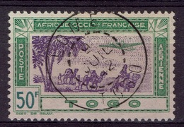 Togo, Airmail, 50 F., Airmail, 1942, VFU, Nice Postmark , Lomé - Used Stamps
