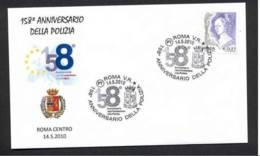4.- ITALY ITALIA 2010. SPECIAL POSTMARK. 158 YEARS OF FOUNDATION OF ITALIAN POLICE. ROMA - Policia – Guardia Civil