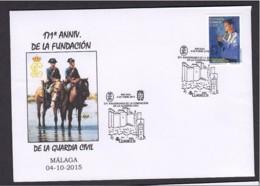 5.- SPAIN ESPAGNE 2015 SPECIAL POSTMARK. 171 YEARS OF FOUNDATION. GUARDIA CIVIL. POLICE OF SPAIN - Policia – Guardia Civil
