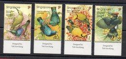 SINGAPOUR - SINGAPORE - OISEAUX - BIRDS - VÔGEL - 2002 - - Singapour (1959-...)
