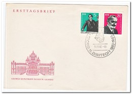 DDR 1962, FDC, 80th Birthday Of Georgi M. Dimitrow - FDC: Enveloppes