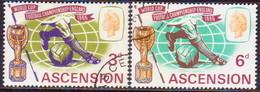 1966 ASCENSION SG #95-96 Compl.set Used Football Championship - Ascension (Ile De L')