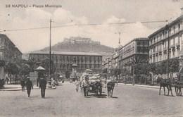 8224.   Napoli - Piazza Municipio - Small Format FP - Napoli (Naples)