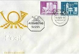 DDR - 13 6 1973  AUFBAU IN DER DDR - FDC: Enveloppes