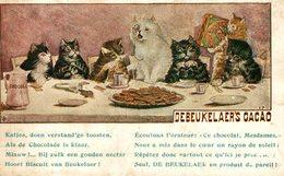Chats Chat De Beukelaer Cacao Debeukelaer   Advertisement   Advertising. SEE BACK SCAN - Künstlerkarten