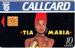 IRELAND - Tia Maria 1, Tirage 10000, 11/93, Used - Publicité