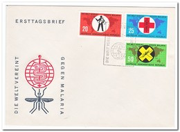 DDR 1963, FDC, Fight Against Malaria - FDC: Enveloppes