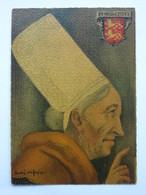 André Stéfan, Personnage Traditionnel, Coiffe De La Région De Rouen, Normandie - Künstlerkarten