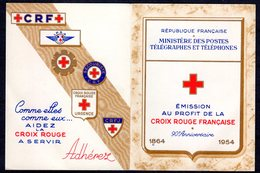 CARNET Croix-Rouge N° 2003 Neuf** LUXE (1954)  COTE= 180 Euros !!! - Carnets