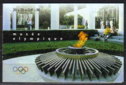 CIO/IOK Zu  1-2 / Mi 1-2 / YT  476-477 ** CARNET SPORT COMITÉ INTERNATIONAL OLYMPIQUE - Service