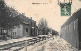 Apremont Gare Train Canton Grangpré - Autres Communes