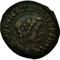 Monnaie, Constantin I, Nummus, 313-314, Lyon - Lugdunum, TB+, Cuivre - 7. L'Empire Chrétien (307 à 363)