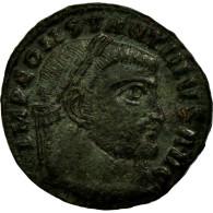 Monnaie, Constantin I, Nummus, 312-313, Siscia, TTB, Cuivre, RIC:7 - 7. L'Empire Chrétien (307 à 363)