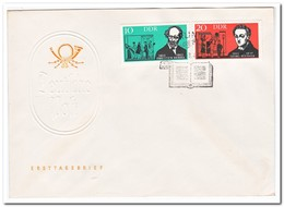 DDR 1963, FDC, Writers And Opera Composers - FDC: Enveloppes