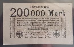 EBN1 - Germany 1923 Banknote 200000 Mark Pick 100 - [ 3] 1918-1933 : Weimar Republic